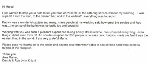 Maravelas Fox Lake Banquet Hall And Catering Services Referrals